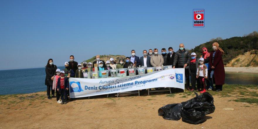 Sardala'da çöp temizliği