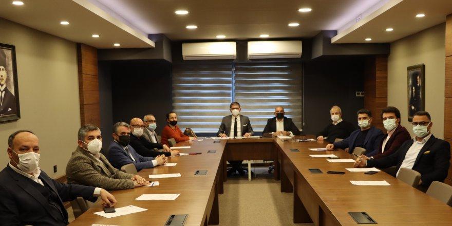 CHP İlçe  başkanları toplandı