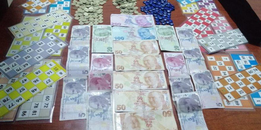 32 KİŞİYE PARA CEZASI:  Villaya kumar baskını