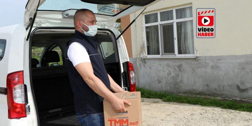 Büyükşehir, 17 Günlük kapanmada 100 Bin koli dağıtıyor