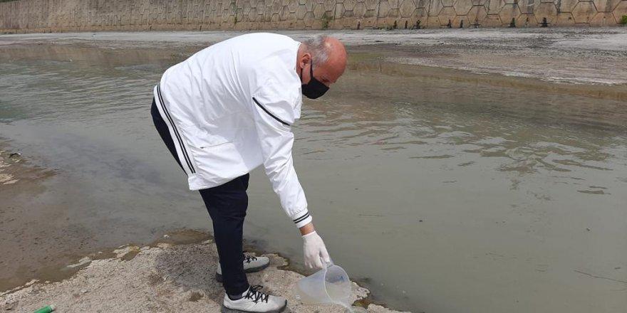Derelerdeki su kalitesi izleniyor