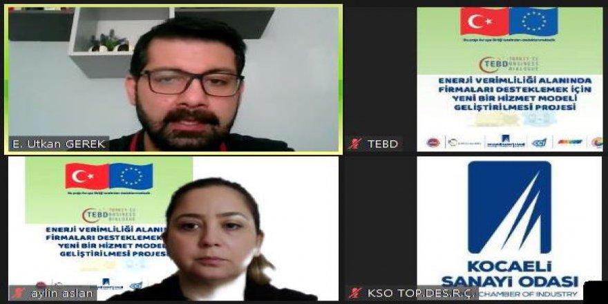 KSO'da online eğitim toplantısı