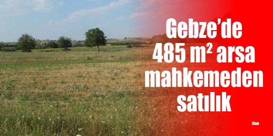 Gebze'de 485 m² arsa mahkemeden satılık