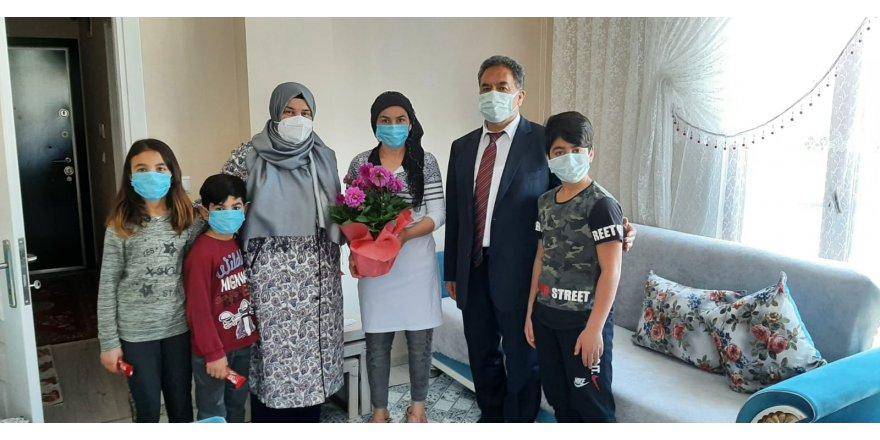 Güler Çiftinden Şehit ve Gazi Ailelerine Bayram Ziyareti