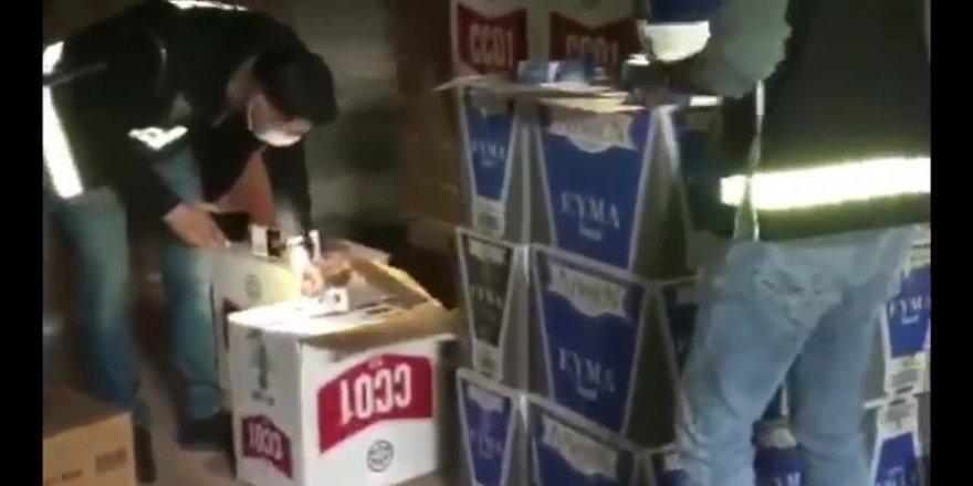 Kocaeli merkezli tütün kaçakçılığı operasyonu: 20 gözaltı