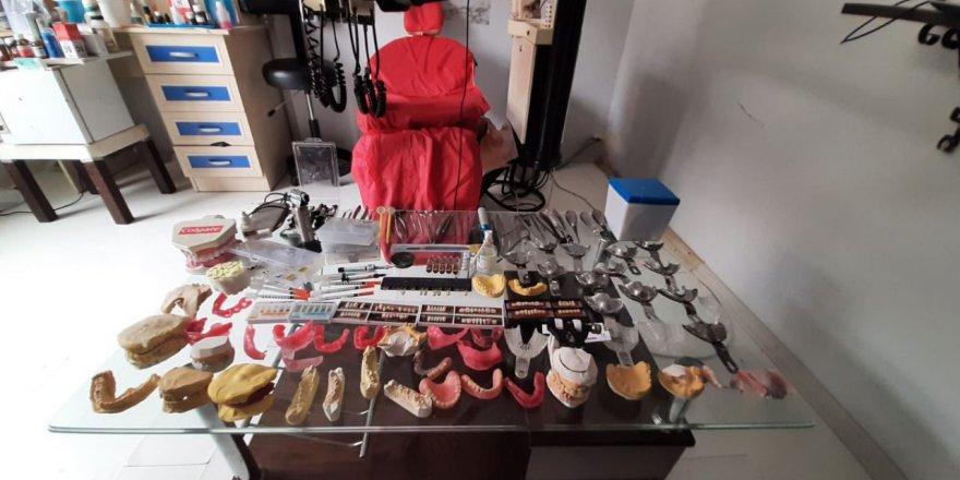 Sahte diş doktoruna operasyon
