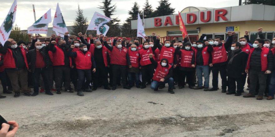Baldur işçileri Ankara yollarına düşecek