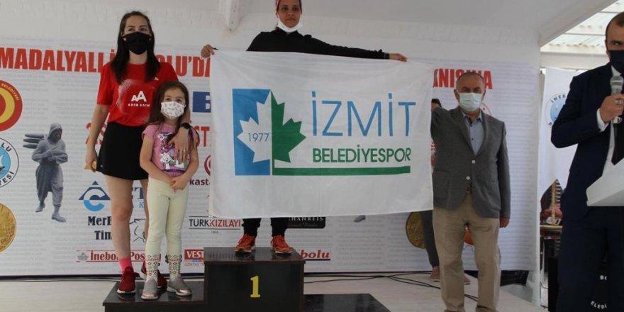 Hasnaa Türkiye Şampiyonu oldu