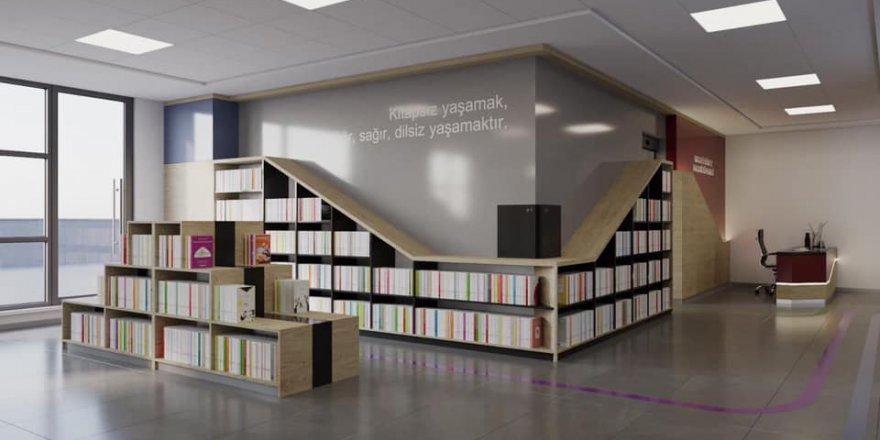 Dilovası'na halk kütüphanesi yapılıyor