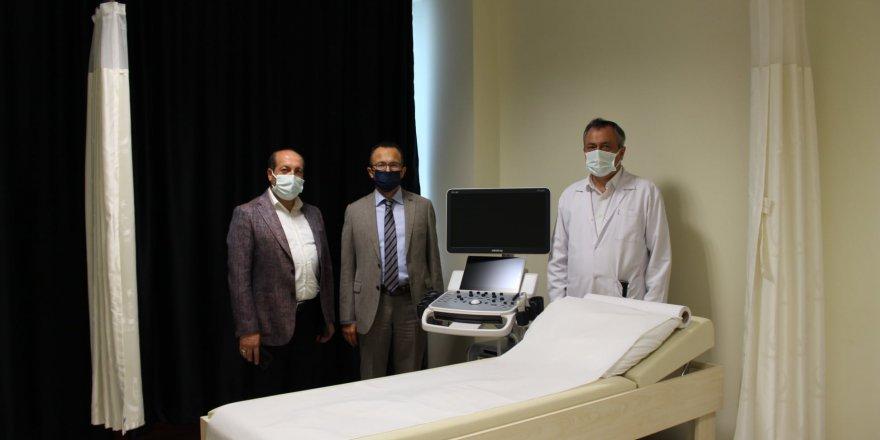 Dilovası'nda ultrason cihazı yenilendi