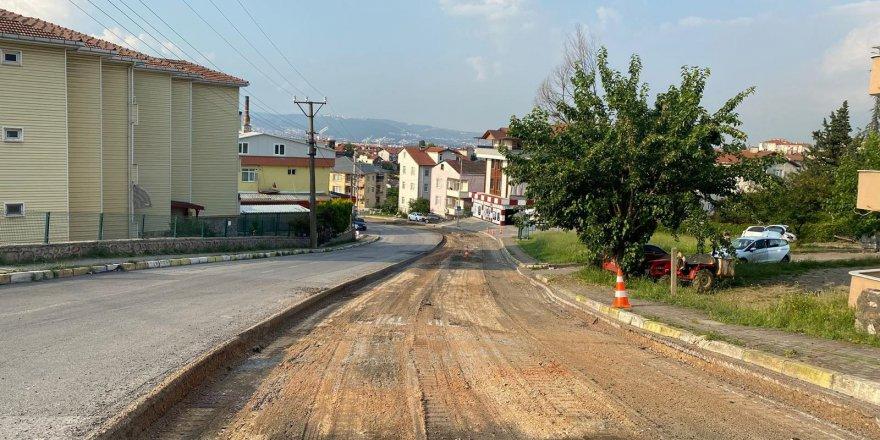 Anafartalar Caddesi'nde üstyapı yenileniyor