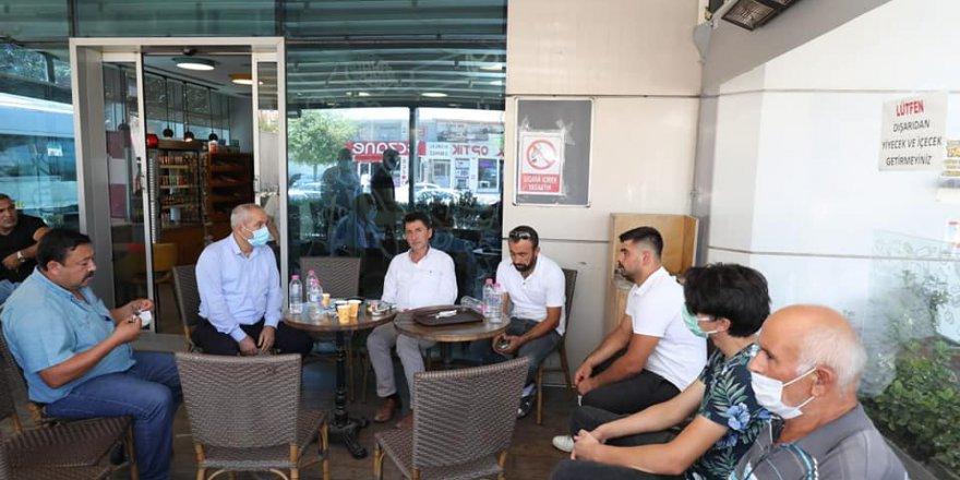 Büyükgöz'den acılıyı aileye ziyaret