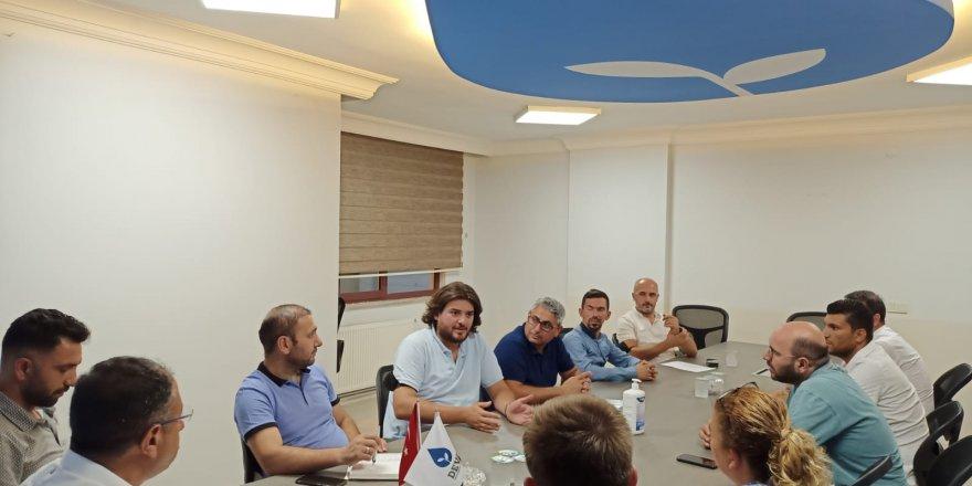 Deva Partisi Kemal Memiş başkanlığında toplandı