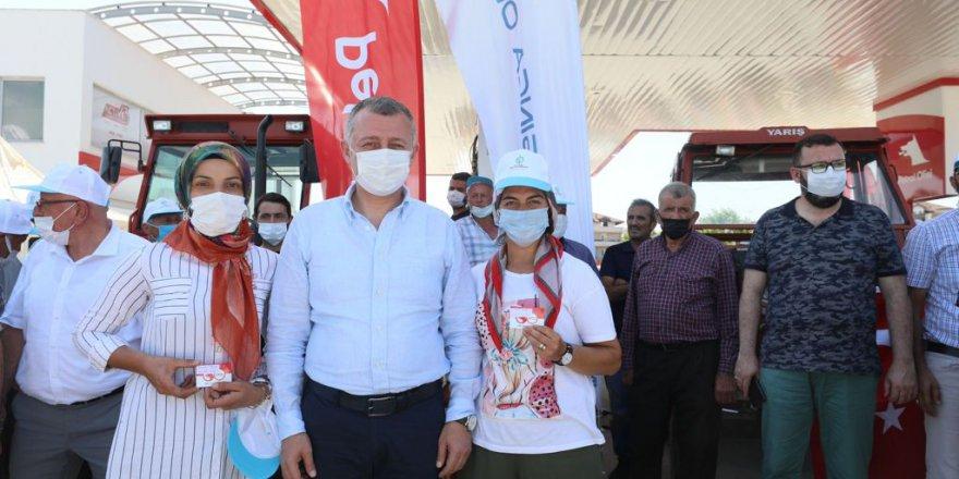 'Büyükşehir'den çiftçimize destek toprağımıza bereket'