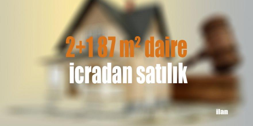2+1 87 m² daire icradan satılık