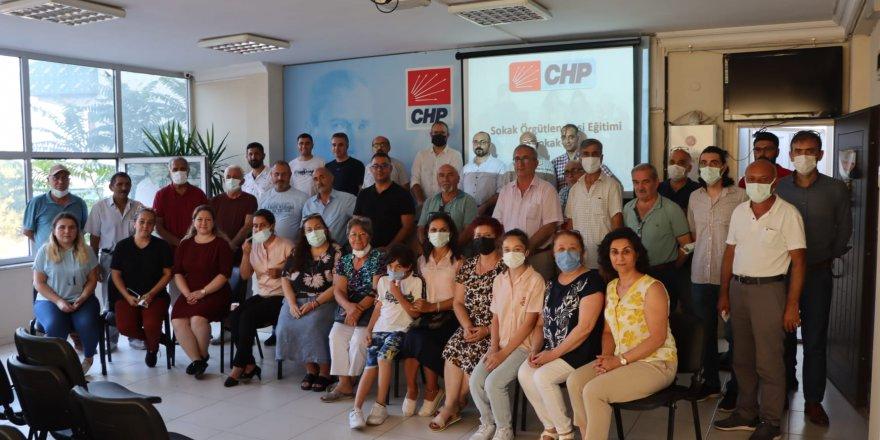 CHP Kocaeli sokakta öbek öbek örgütleniyor