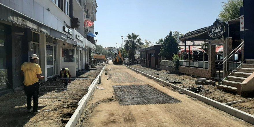 Gazanfer Bilge Caddesi yenileniyor