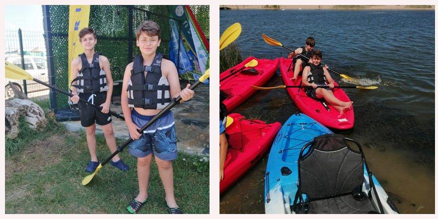Yarışmacılar Sarısu Gençlik Kampı'nın tadını çıkardı