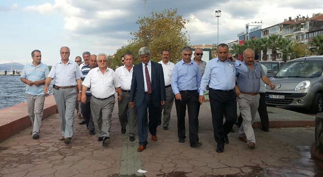 CHP'li vekillerden Karamürsel çıkarması