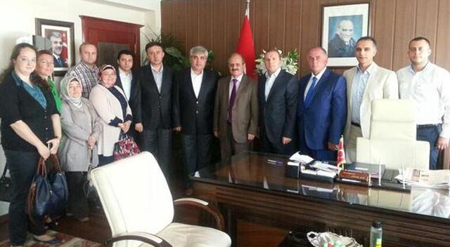 AKP'den Kaymakam Arslan'a hayırlı olsun ziyareti