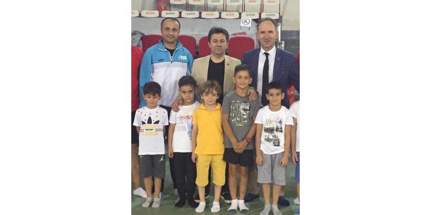 Cimnastik kulüplerinden  Suat Çelen'e destek