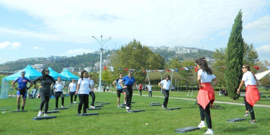 Avrupa Hareketlilik Haftası'nda sağlık için pedal çevirdiler