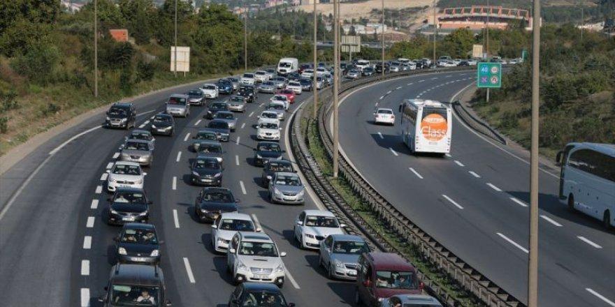 Kocaeli'de araç sayısı yükseldi