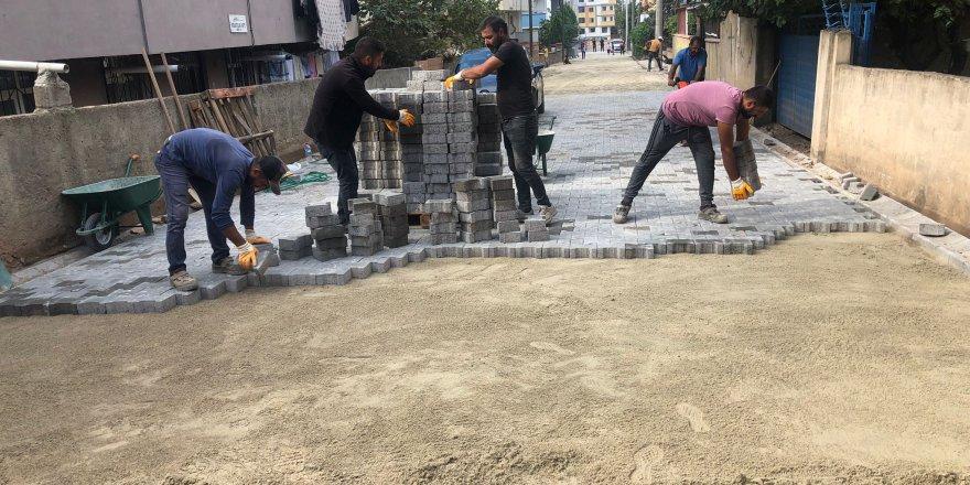 Darıca'da üstyapı çalışmaları devam ediyor