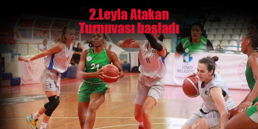 2.Leyla Atakan Turnuvası başladı