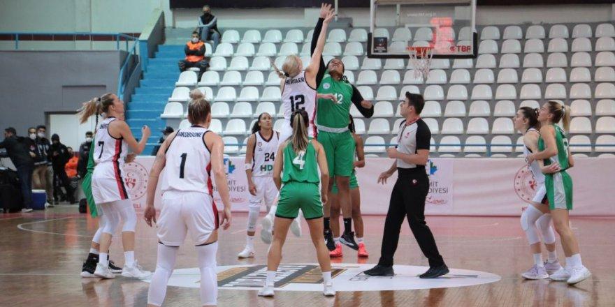İzmitli Periler, Beşiktaş'ı devirdi: 83-72