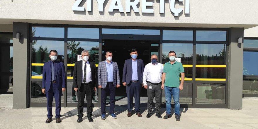 Pehlevan şehir hastanesini inceledi