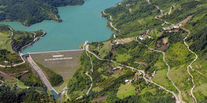 Yuvacık Barajı'nın yarısı boşaldı
