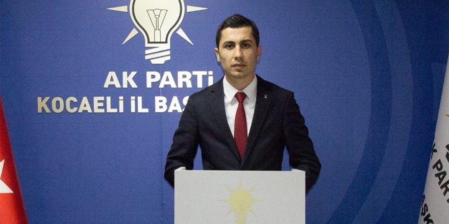 AK Partili yönetici istifa etti