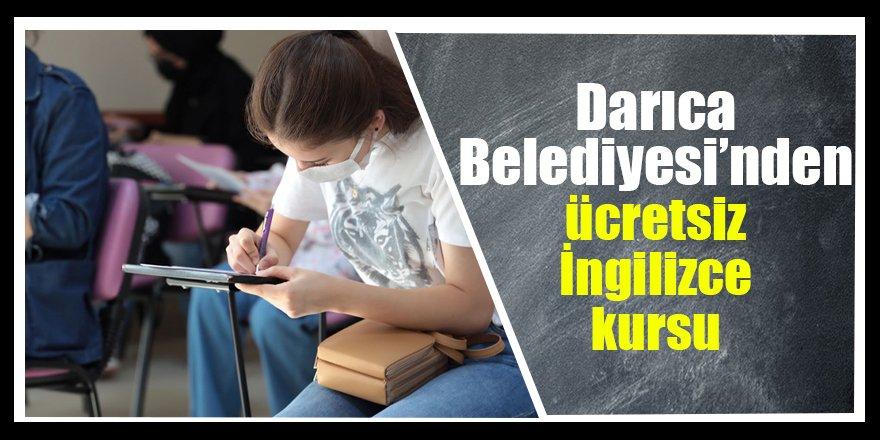 Darıca Belediyesi'nden ücretsiz İngilizce kursu