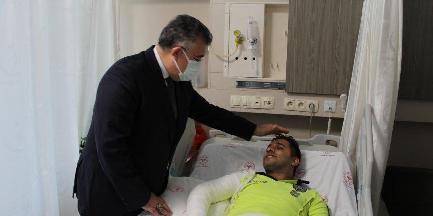 """Vali Yavuz:  """"Polis memuruna çarpanı yakalayacağız"""""""
