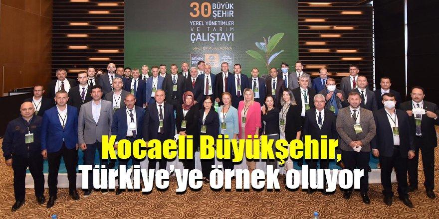 Kocaeli Büyükşehir, Türkiye'ye örnek oluyor