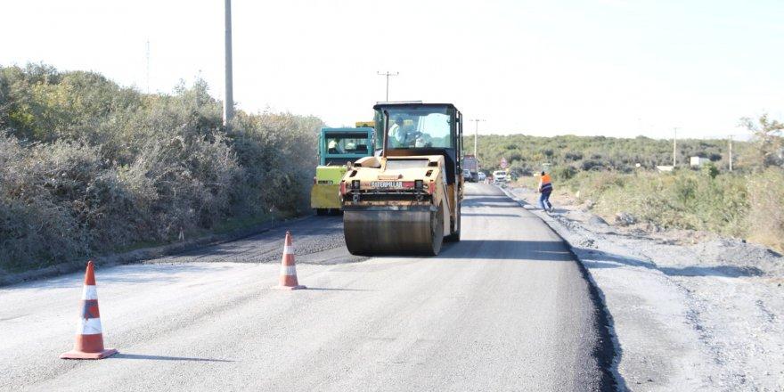Çerkeşli–Tavşancıl yoluna asfalt seriliyor