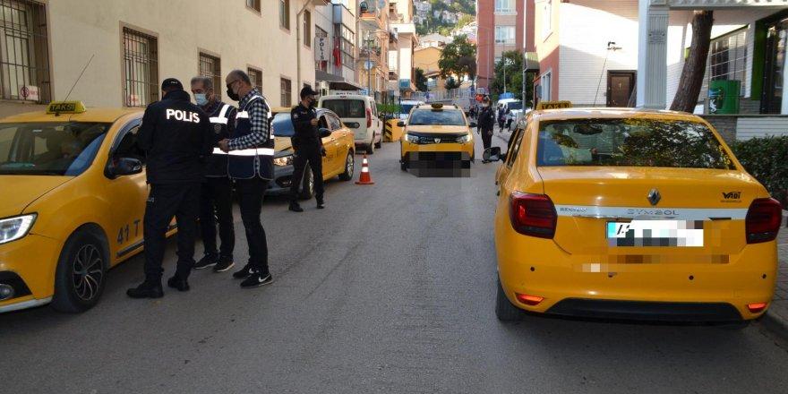 Kocaeli'de, taksi ve vale uygulaması