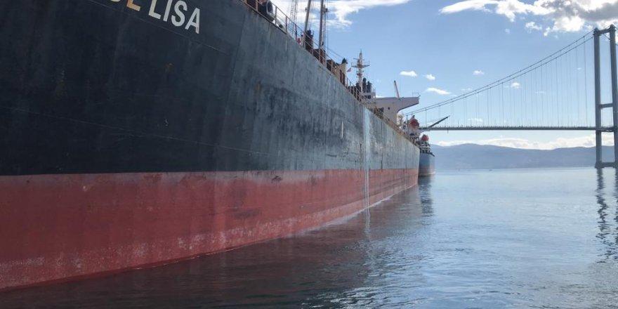 Denizi kirleten gemiye 3 milyon TL ceza
