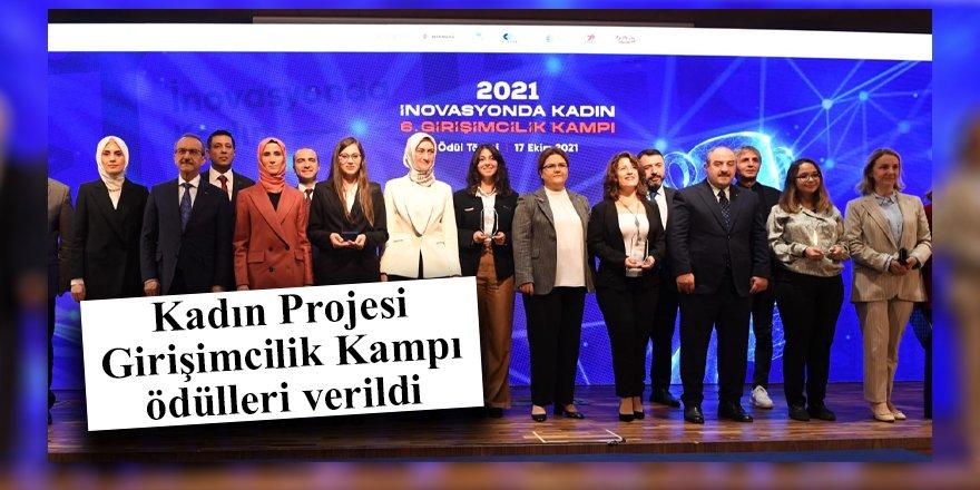 Kadın Projesi Girişimcilik Kampı ödülleri verildi