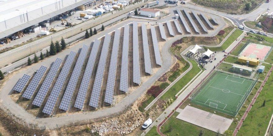 Güneş enerjisi tesisiyle yılda 1616 ağaç kurtarılacak