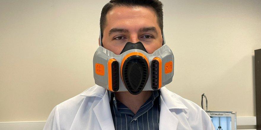 """""""Akıllı maske"""" kullanıcılarına rahat nefes aldıracak"""