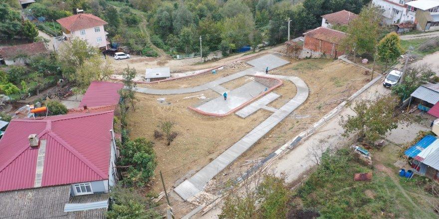 Sepetçiler Köyü'ne modern park