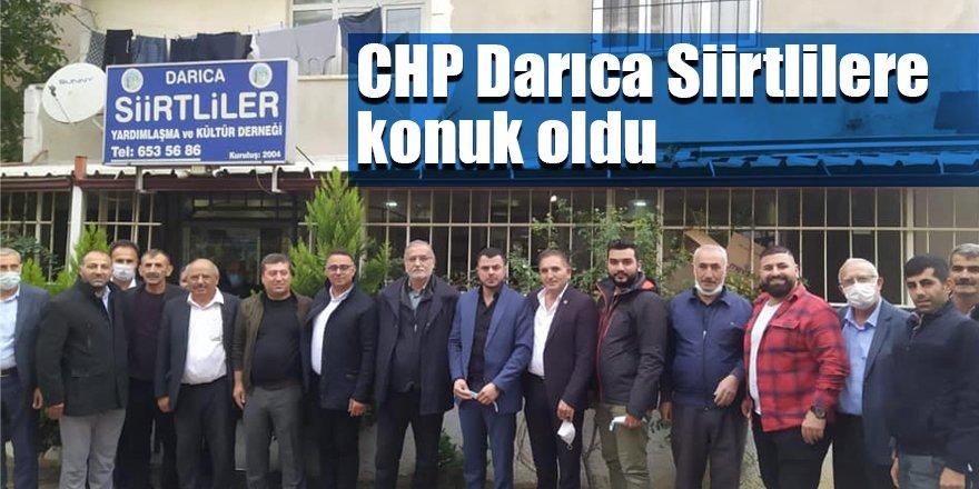 CHP Darıca Siirtlilere konuk oldu