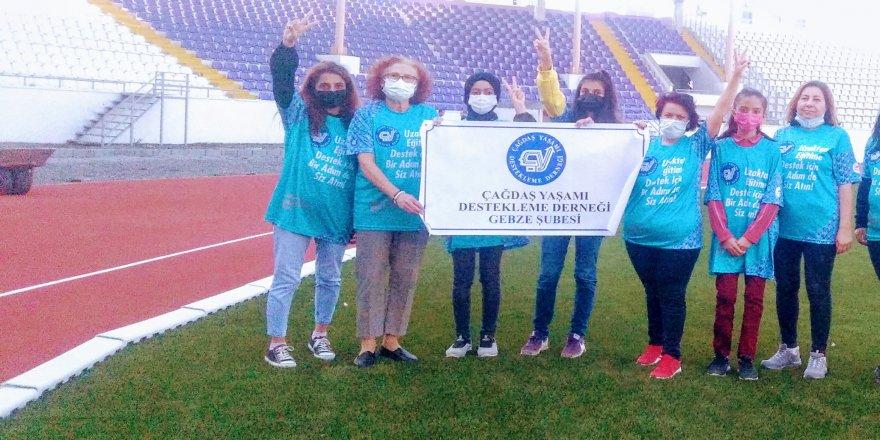 ÇYDD Gebze İstanbul Maratonu'na katılıyor
