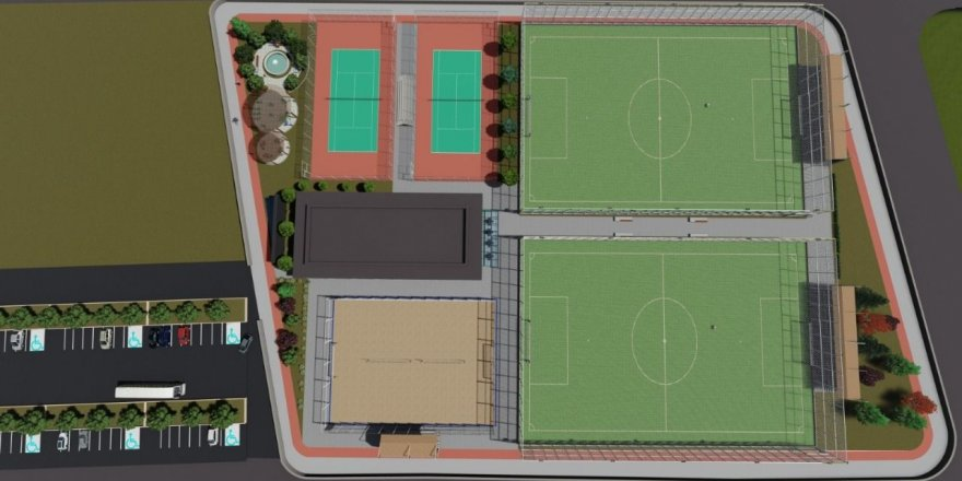İzmit Belediyesi dev spor kompleksi yapacak