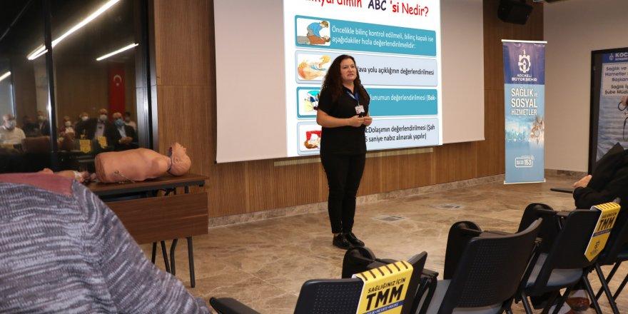 Ulaşım personeline ilk yardım eğitimi