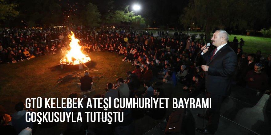 GTÜ Kelebek Ateşi Cumhuriyet Bayramı coşkusuyla tutuştu