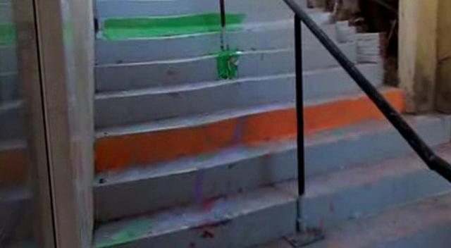 Merdiven boyamaya 30'ar TL para cezası