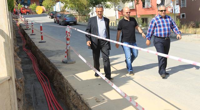 Gebze'de elektrik hatları yeraltına!